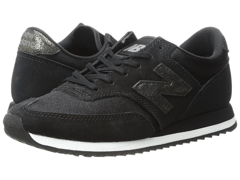 New Balance Classics - CW620v1 (Black/Black) Women's Running Shoes
