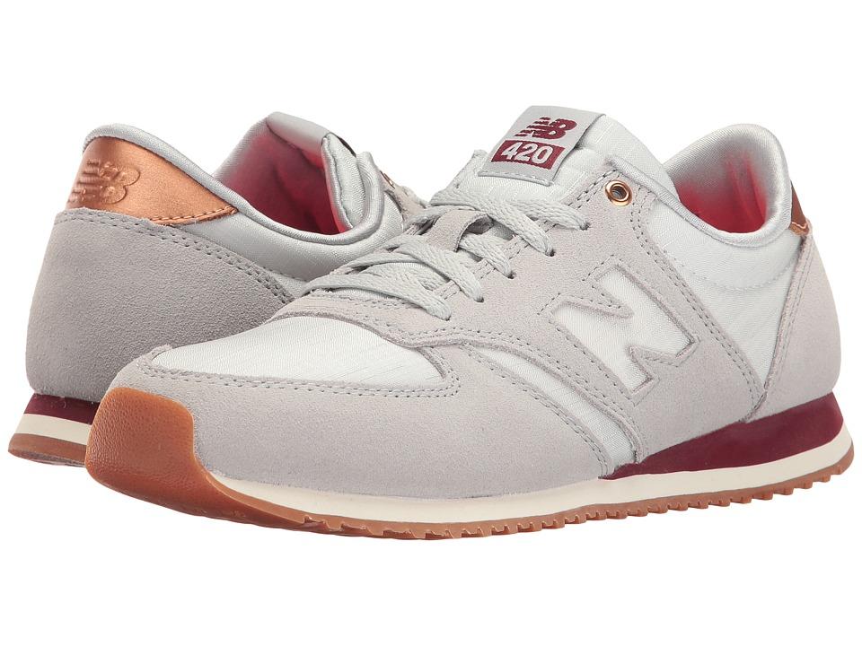 New Balance Classics - WL420 (Silver Mink/Arctic Fox) Women's Classic Shoes
