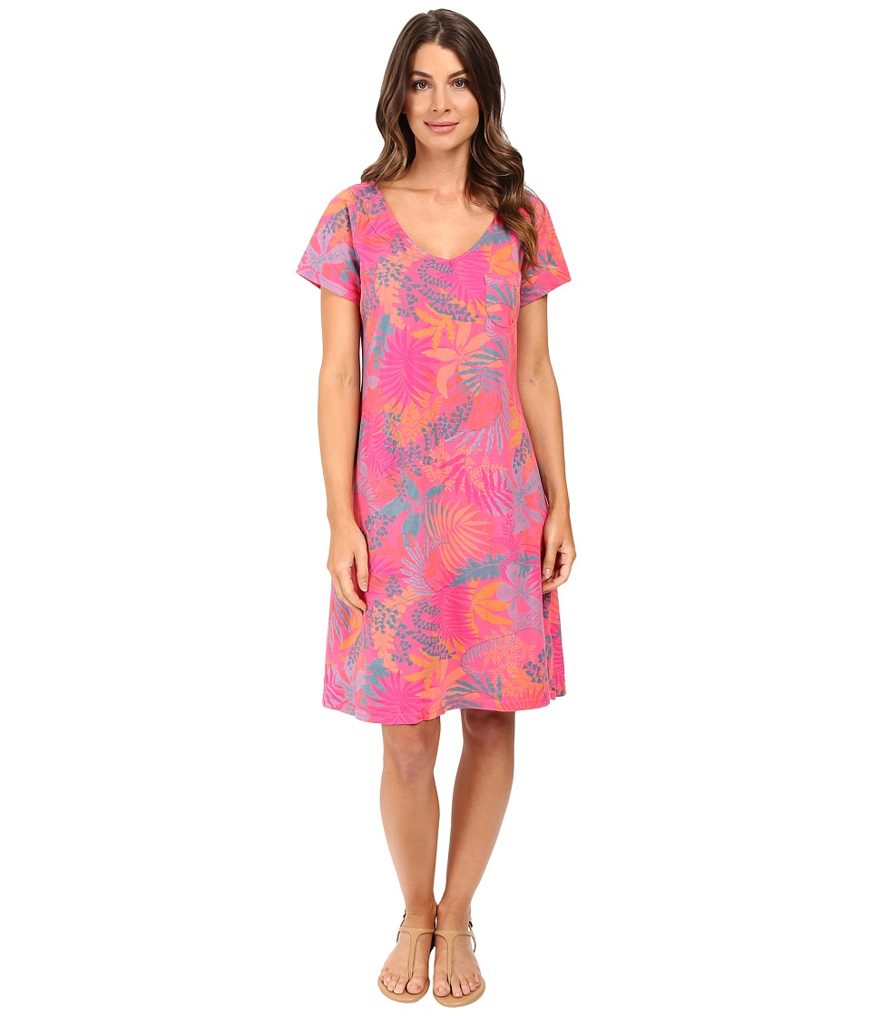 Fresh Produce - Vintage Palm Sydney Dress (Papaya Fruit Pink) Women's Dress