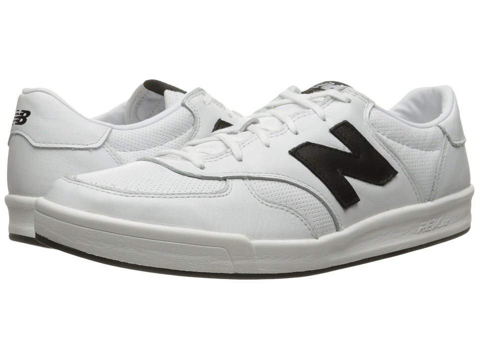 New Balance Classics - CRT300v1 (White/Black) Men's Court Shoes