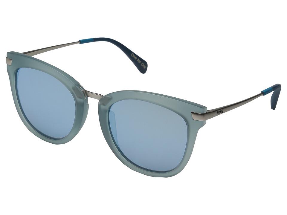 TOMS - Adeline (Medium Blue) Fashion Sunglasses