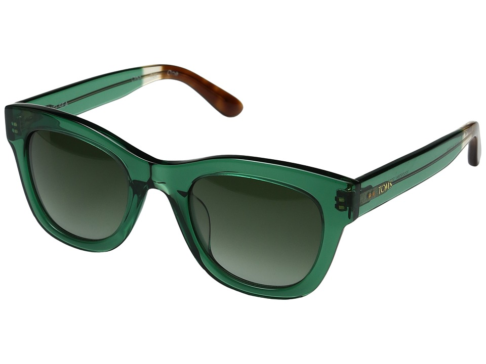 TOMS - Chelsea (Dark Green) Fashion Sunglasses