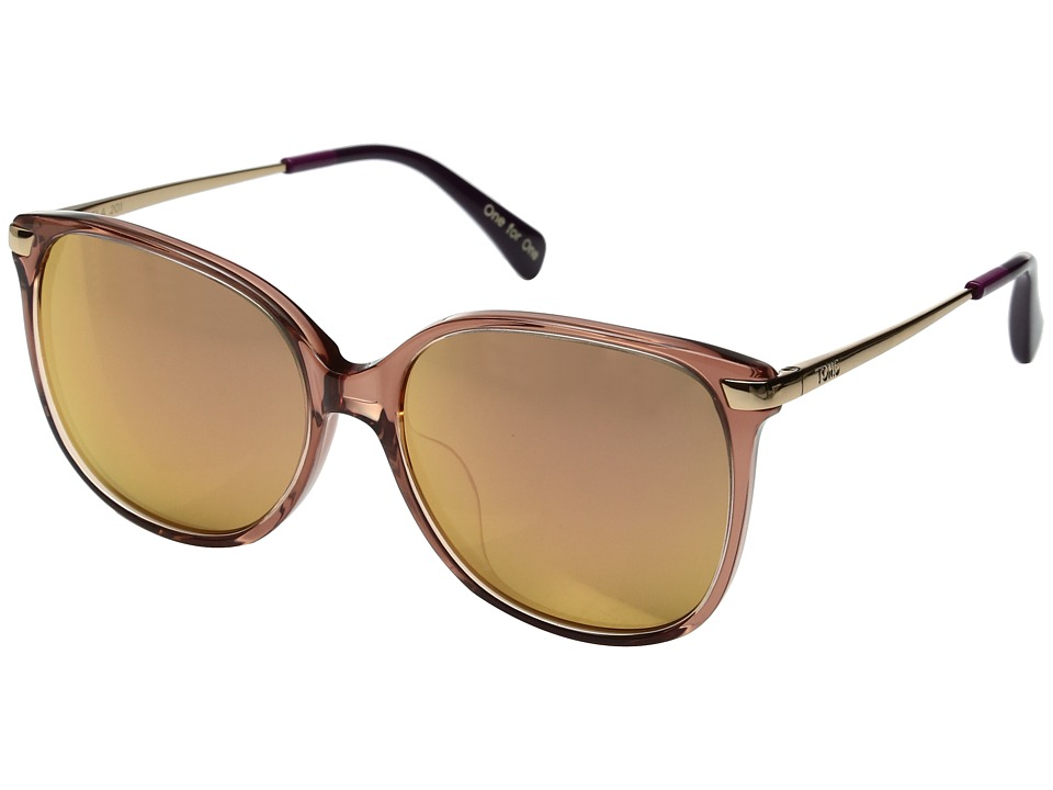 TOMS - Sandela (Medium Pink 1) Fashion Sunglasses