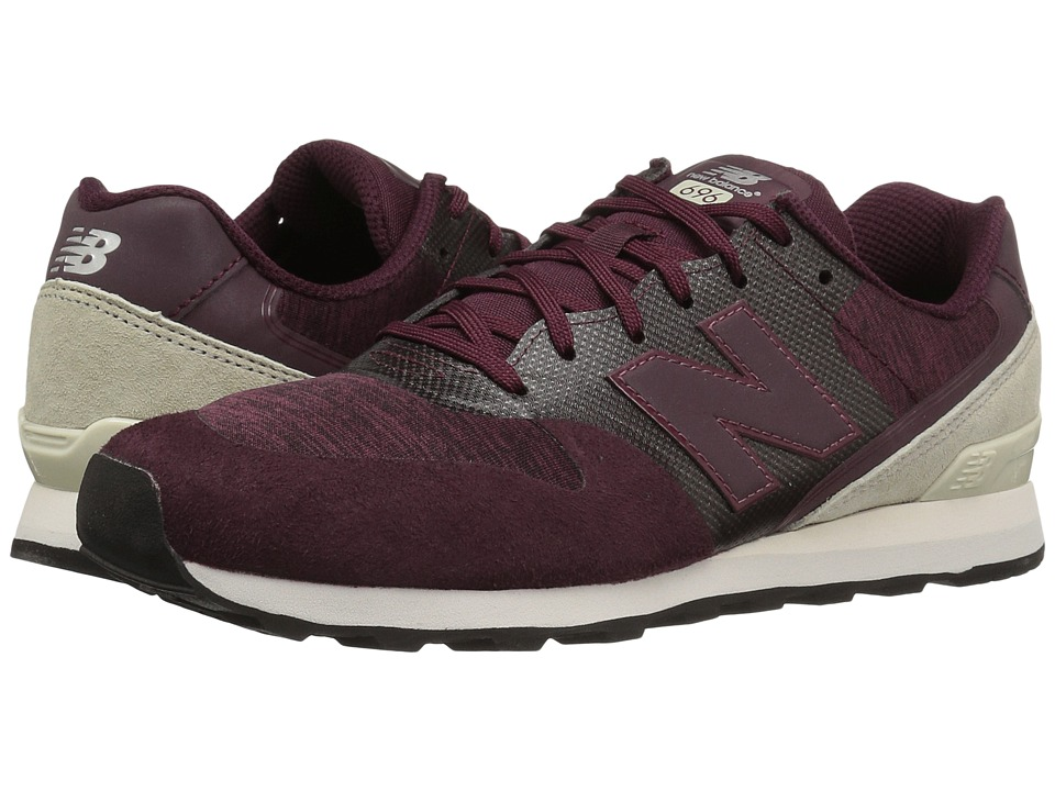 New Balance Classics - WL696 (Red/Red) Women's Classic Shoes