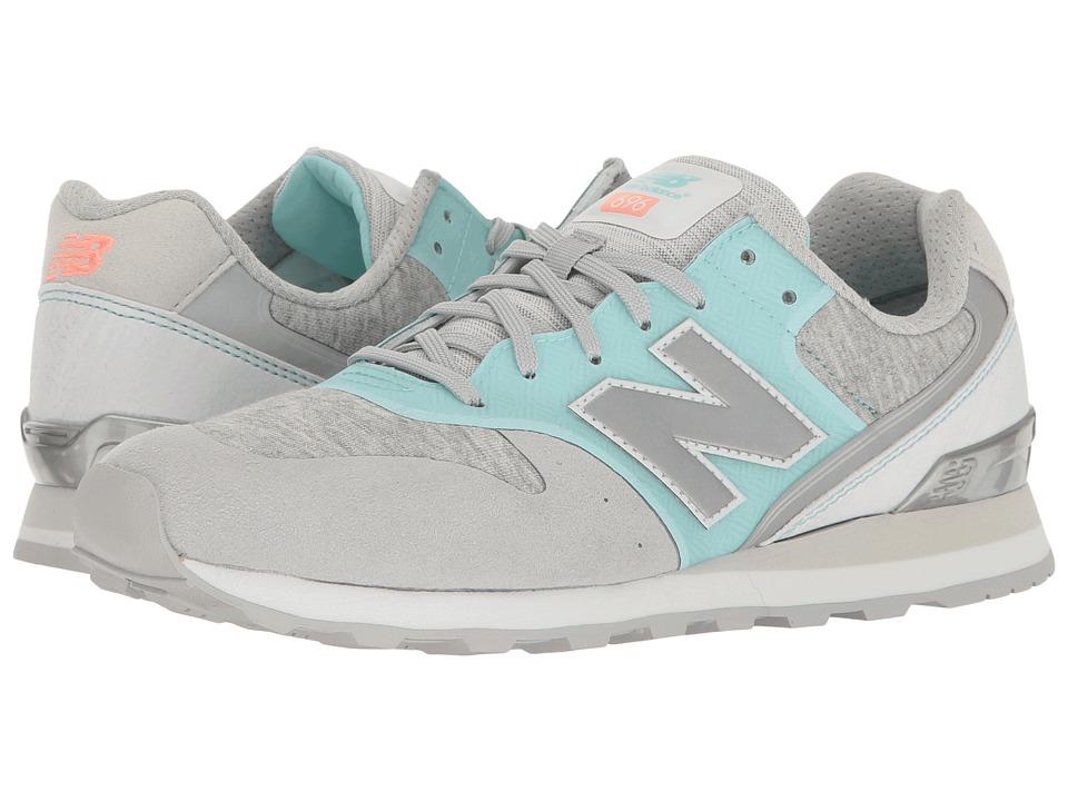 New Balance Classics - WL696 (Light Blue/White) Women's Classic Shoes