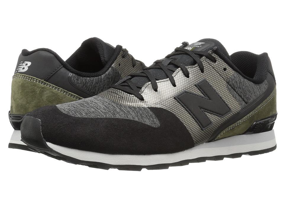 New Balance Classics - WL696 (Grey/Black) Women's Classic Shoes