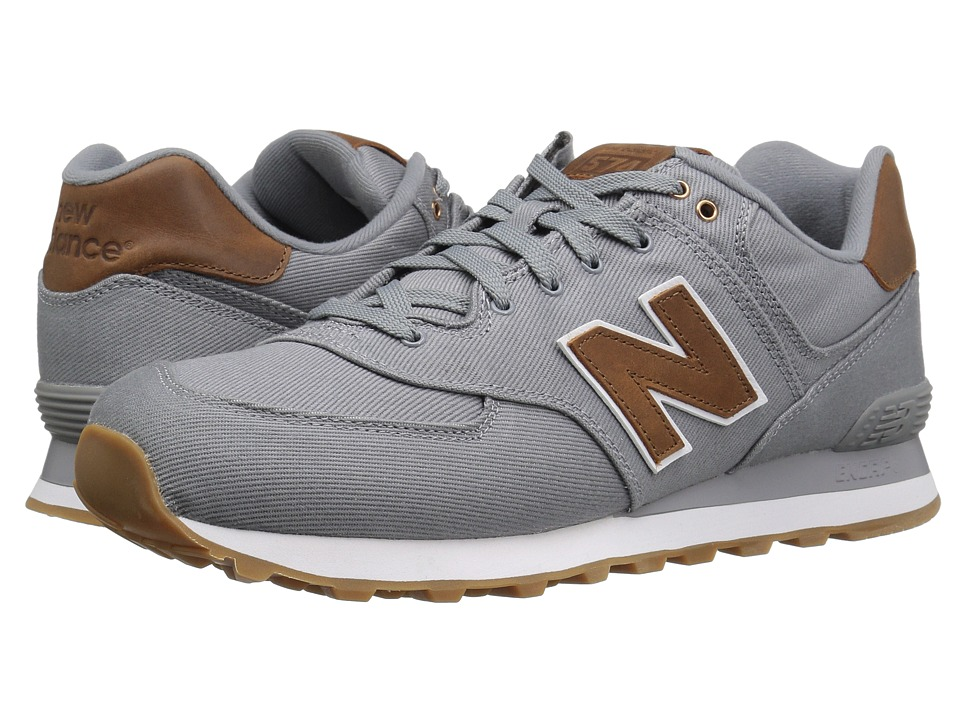New Balance Classics ML574v1 (Grey/Brown) Men