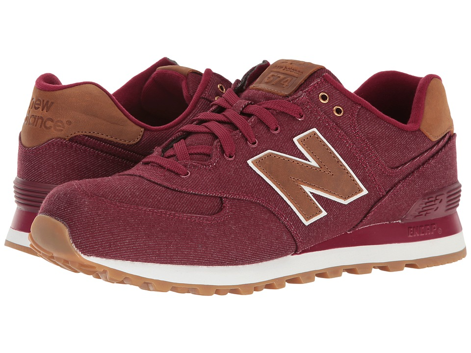 New Balance Classics ML574v1 (Red/Brown) Men