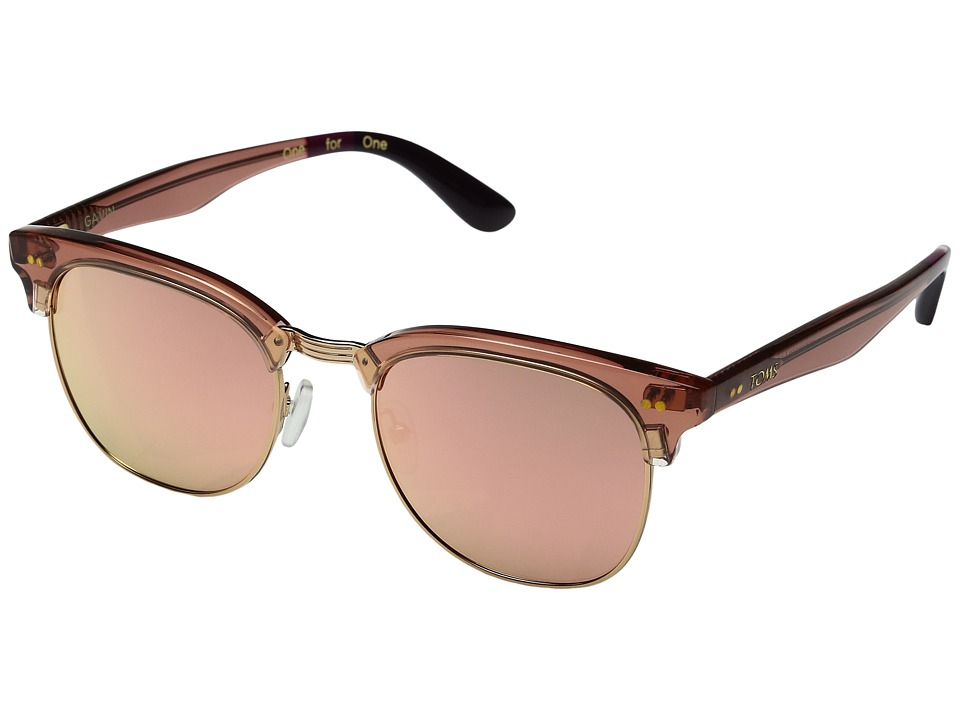 TOMS - Gavin (Medium Pink) Fashion Sunglasses
