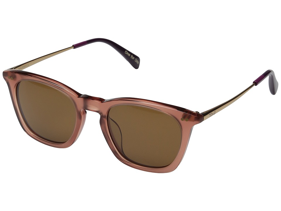 TOMS - Maxwell (Medium Pink) Fashion Sunglasses