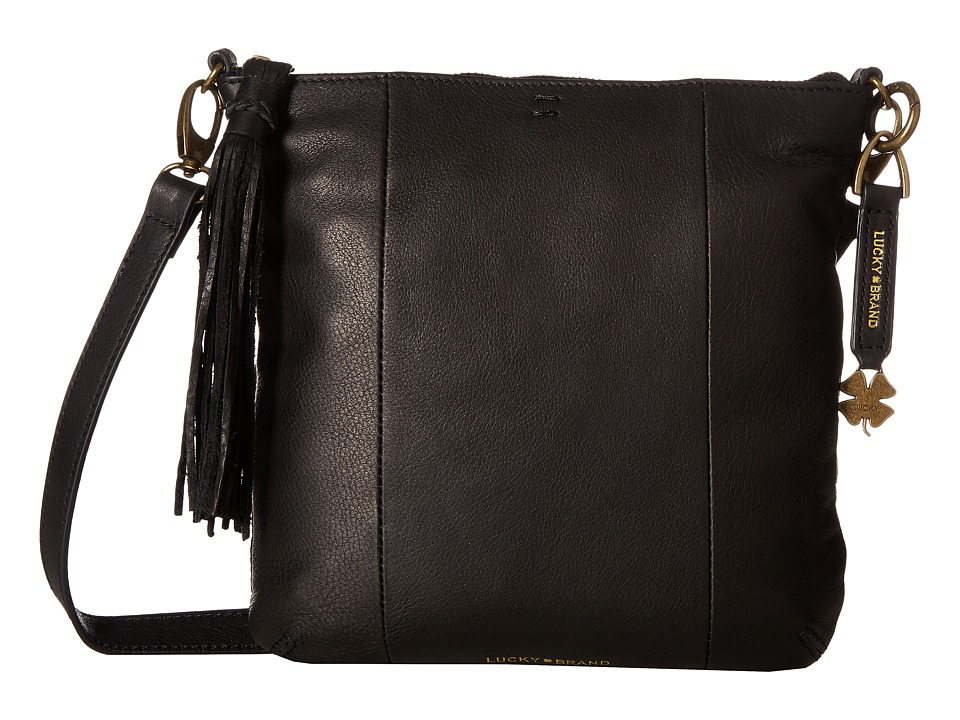 Lucky Brand - April Crossbody (Black) Cross Body Handbags