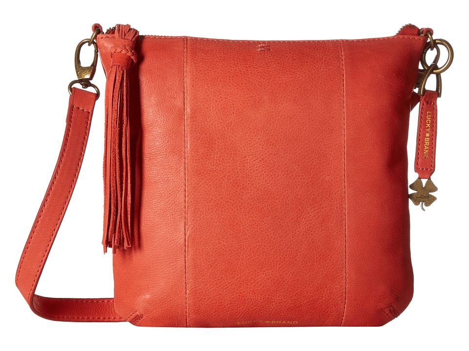 Lucky Brand - April Crossbody (Cayenne) Cross Body Handbags