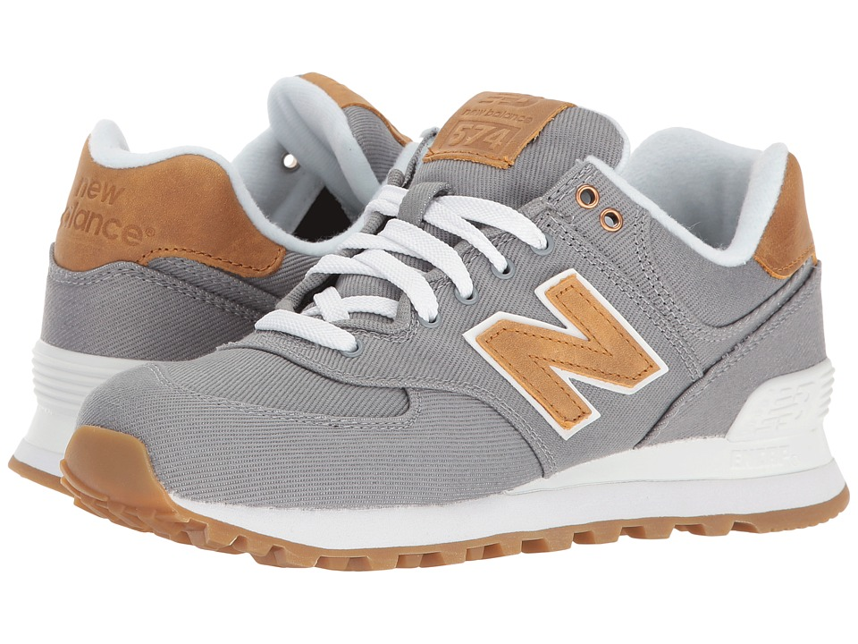 New Balance Classics - ML574v1 (Steel/Steel) Women's Running Shoes