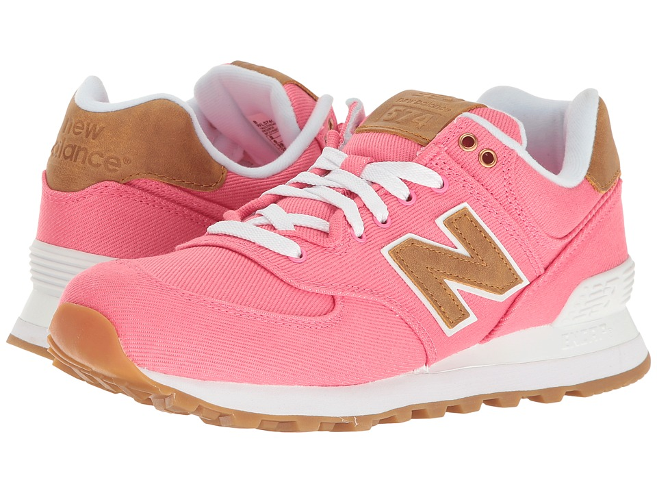 New Balance Classics - ML574v1 (Solar Pink/Beeswax) Women's Running Shoes