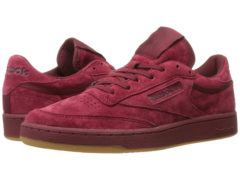 Reebok Lifestyle - Club C 85 TG (Collegiate Burgundy/Dark Red/Gum) Men's Shoes
