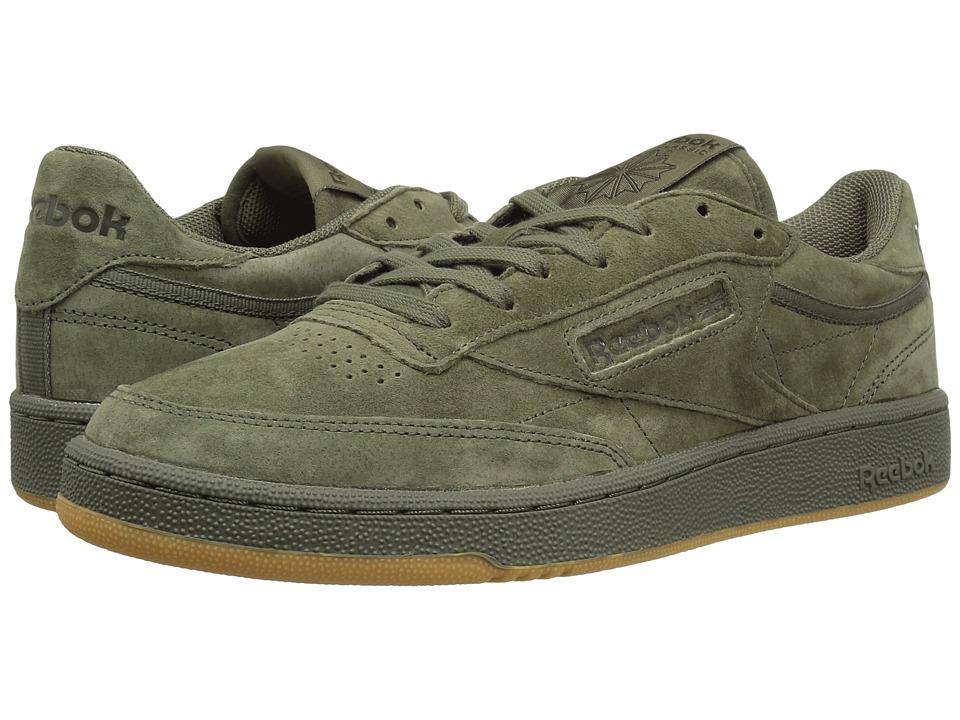 Reebok Lifestyle - Club C 85 TG (Hunter Green/Poplar Green/Gum) Men's Shoes