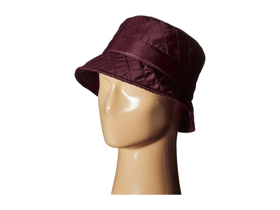 Betmar - Quilted Bucket (Plum) Bucket Caps