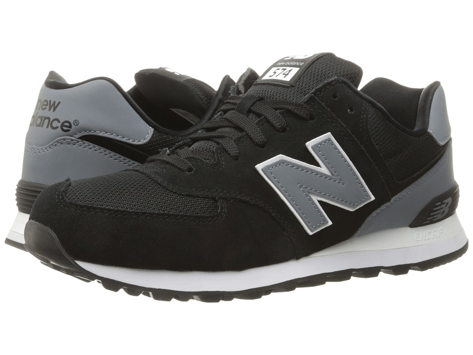 New Balance Classics - ML574v1 (Black/Grey) Men's Running Shoes
