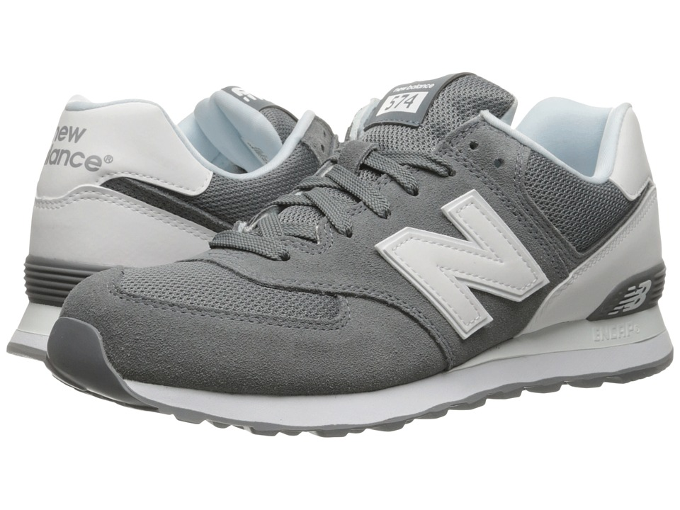 New Balance Classics - ML574v1 (Grey/White) Men's Running Shoes
