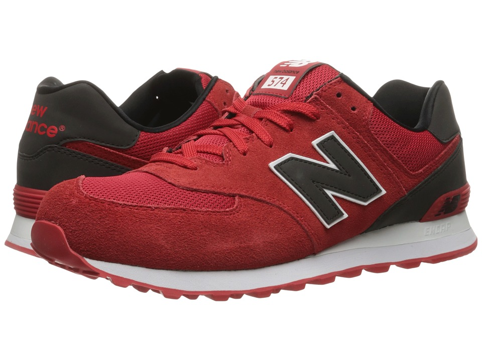 New Balance Classics - ML574v1 (Red/Black) Men's Running Shoes