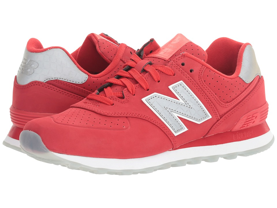 New Balance ML574v1 (Chinese Red/Chinese Red) Men