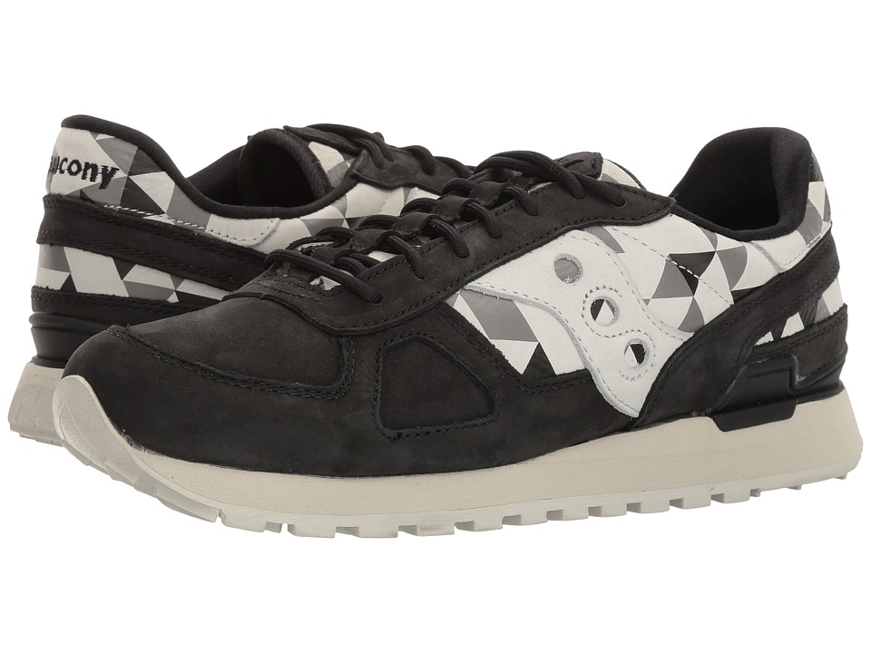 Saucony Originals - Shadow O School Spirit (Black/Grey) Men's Classic Shoes