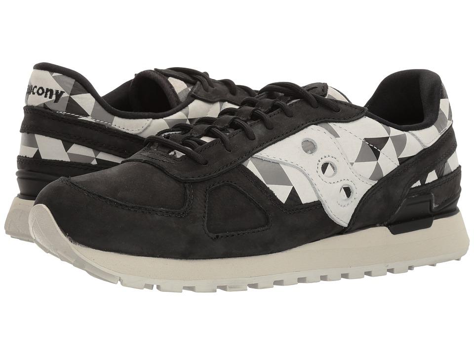 Saucony Originals - Shadow O School Spirit (Black/Grey) Men's Classic Shoes