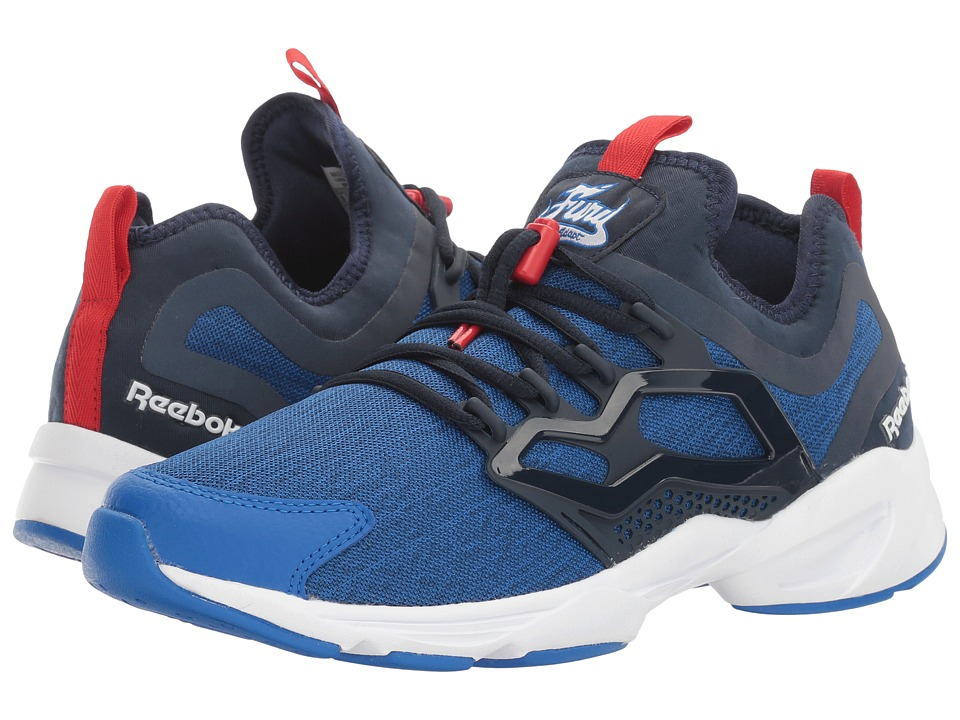 Reebok Lifestyle - Fury Adapt UC (Awesome Blue/Collegiate Navy/White/Primal Red) Men's Shoes