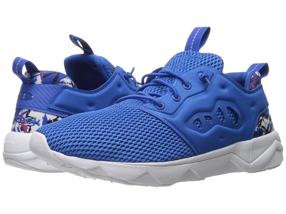 Reebok Lifestyle - Furylite II AR (Awesome Blue/White/Black/Pink/Blaze/Echo) Men's Shoes