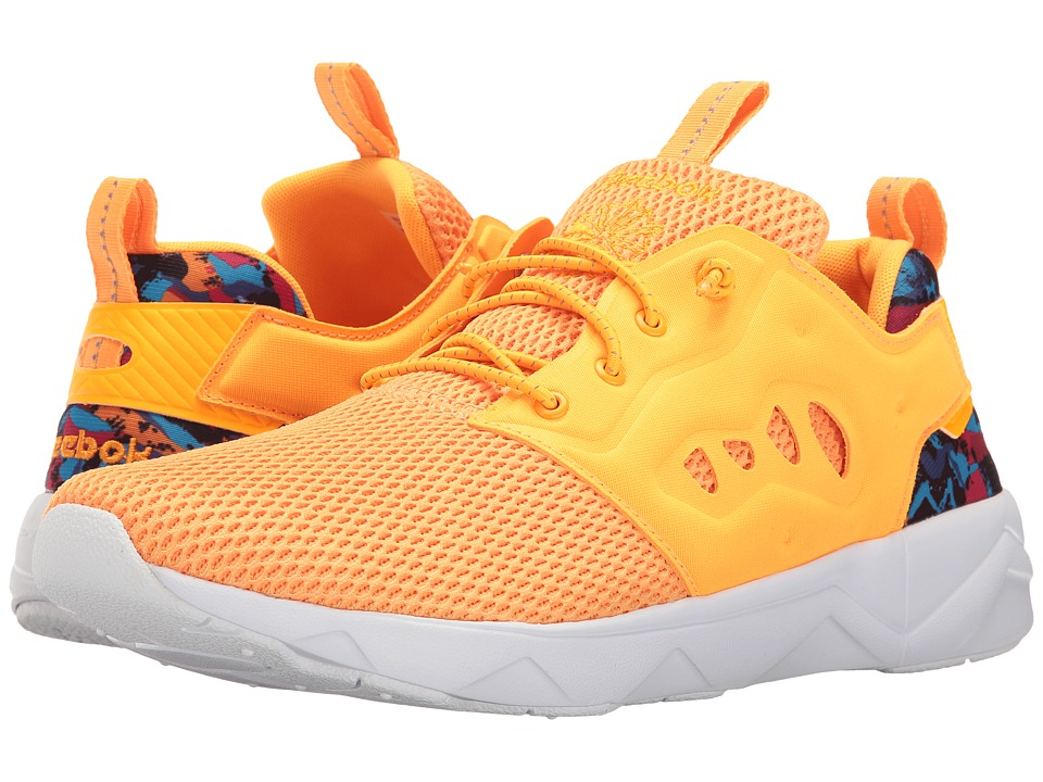 Reebok Lifestyle - Furylite II AR (Fire Spark/White/Team Purple/Black/Pink Craze/Sunset Orange) Men's Shoes