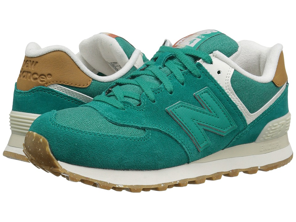 New Balance Classics - WL574v1 (Galapagos/Powder) Women's Running Shoes