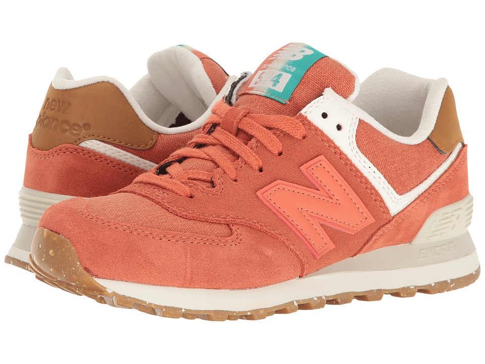 New Balance Classics - WL574v1 (Pink Clay/Powder) Women's Running Shoes