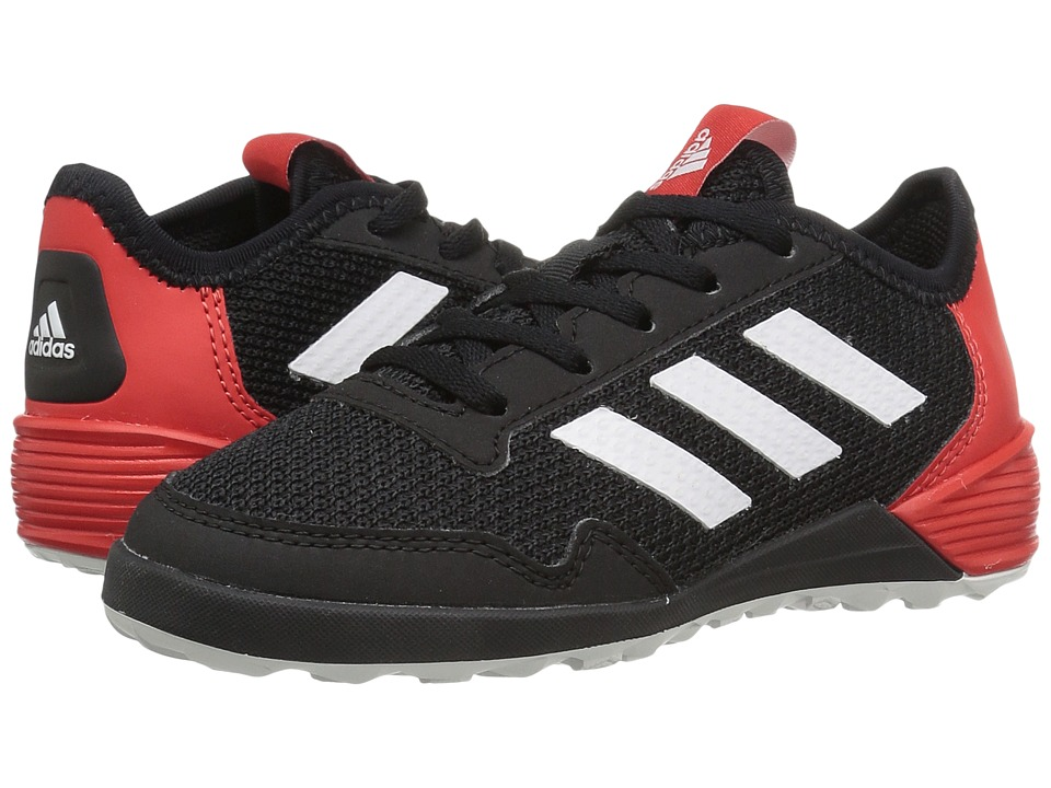 adidas Kids - Ace Tango 17.2 IN Soccer (Little Kid/Bid Kid) (Black/White/Red) Kids Shoes