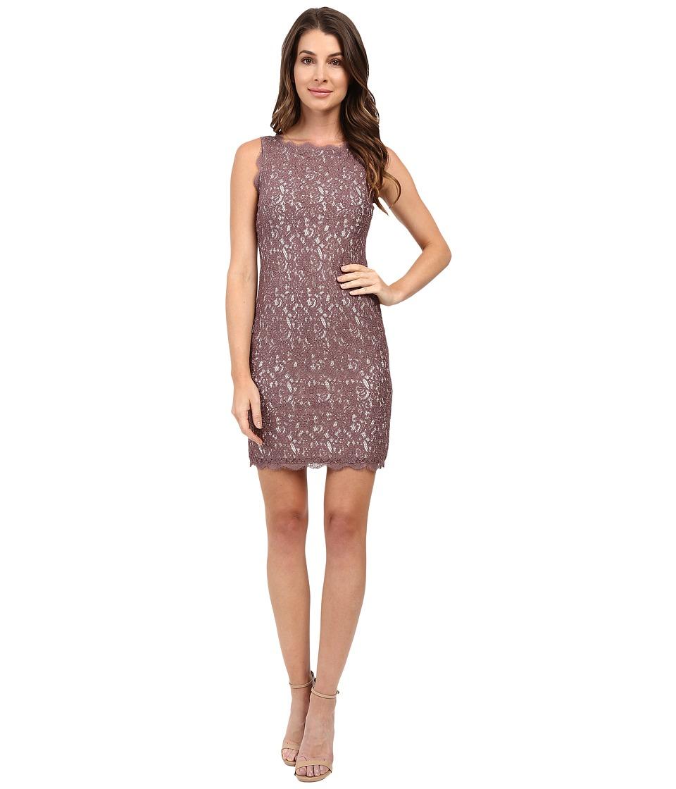 Adrianna Papell - Sleeveless Dress (Cappucino/Ivory) Women's Dress