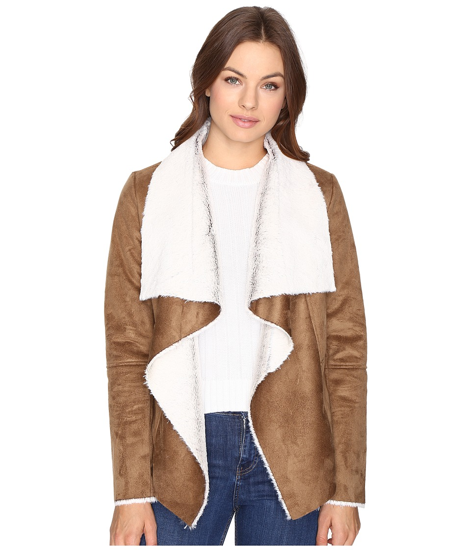 BB Dakota - Bourne Faux Suede Jacket (Camel) Women's Coat