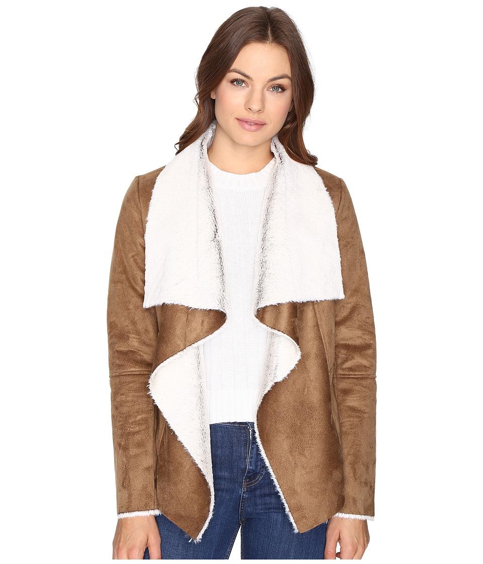 BB Dakota - Bourne Faux Suede Jacket (Camel) Women's Coat