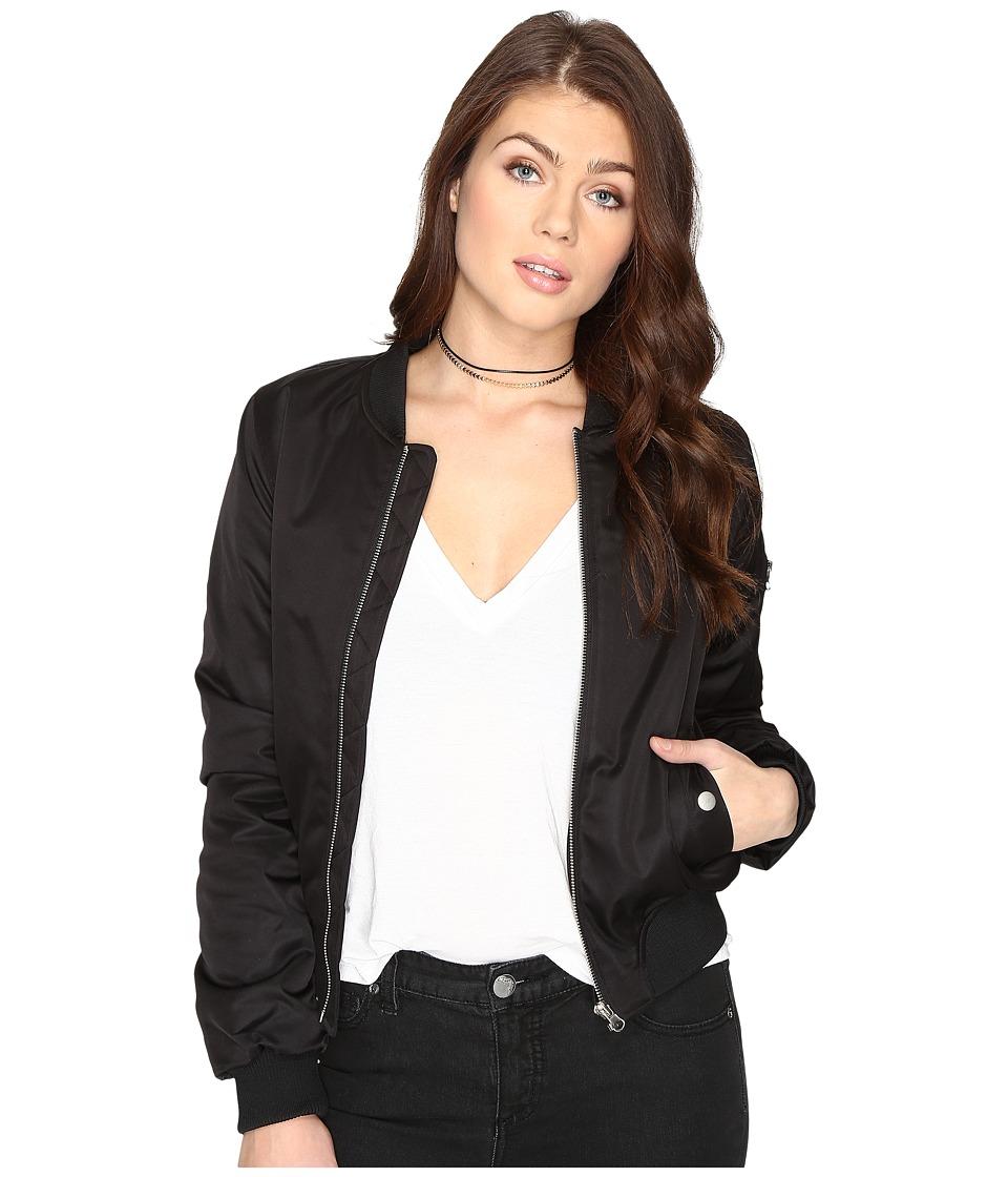 BB Dakota - Atwood Bomber Jacket (Black) Women's Coat