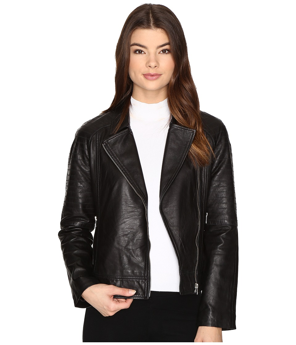 BB Dakota - Stafford Moto Jacket (Black) Women's Coat