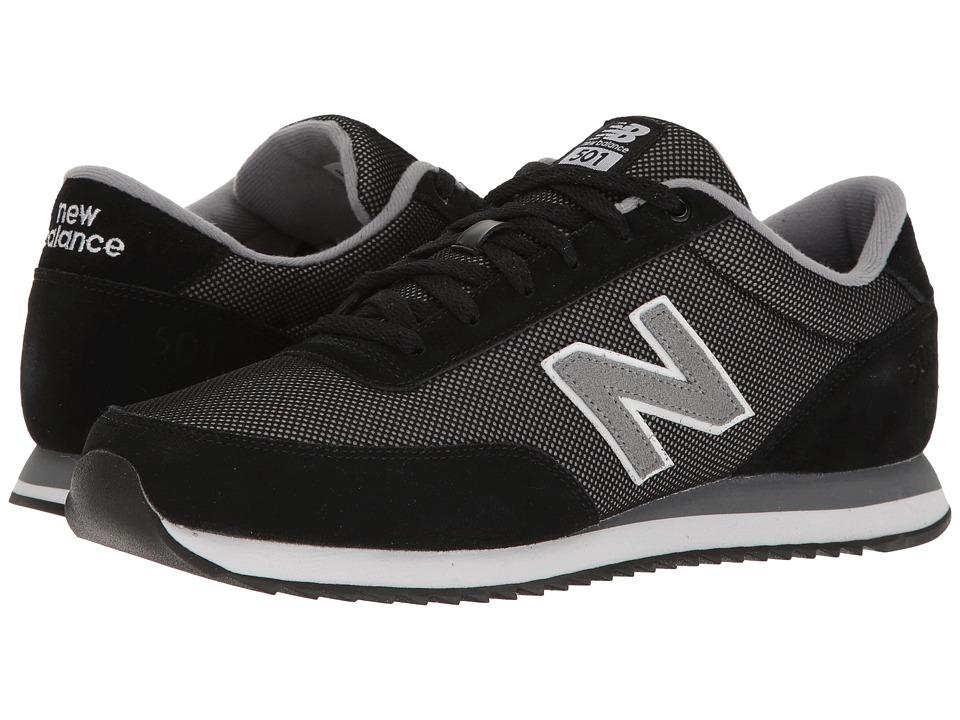 New Balance Classics - MZ501v1 (Black/Grey) Men's Classic Shoes