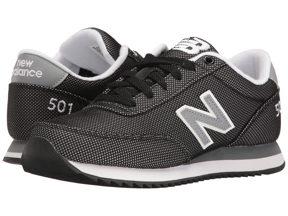 New Balance Classics - WZ501v1 (Black/Grey) Women's Shoes