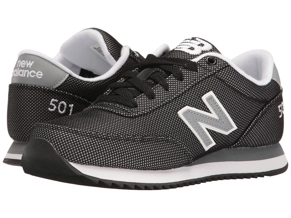 New Balance Classics - WZ501v1 (Black/Grey) Women's Shoes