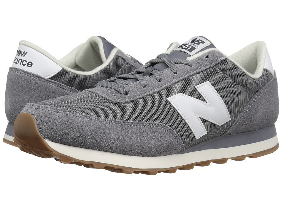 New Balance Classics - ML501 (Grey/White 1) Men's Classic Shoes