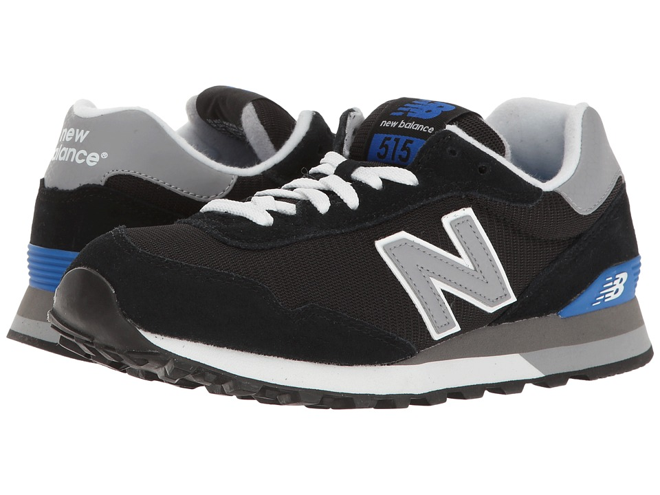 New Balance Classics - ML515 (Black/Grey) Men's Classic Shoes