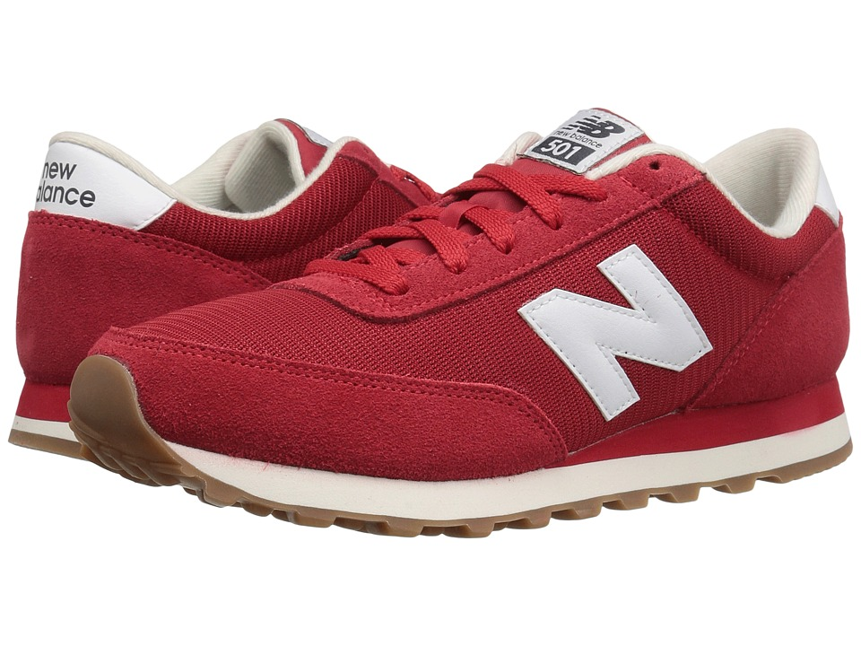 New Balance Classics - ML501 (Red/White) Men's Classic Shoes