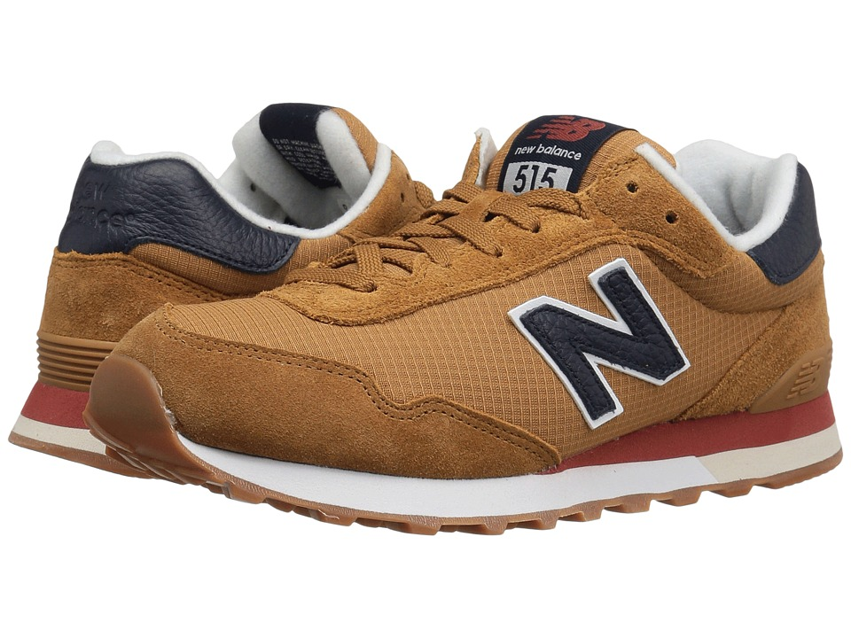 New Balance Classics - ML515 (Wheat/Navy) Men's Classic Shoes