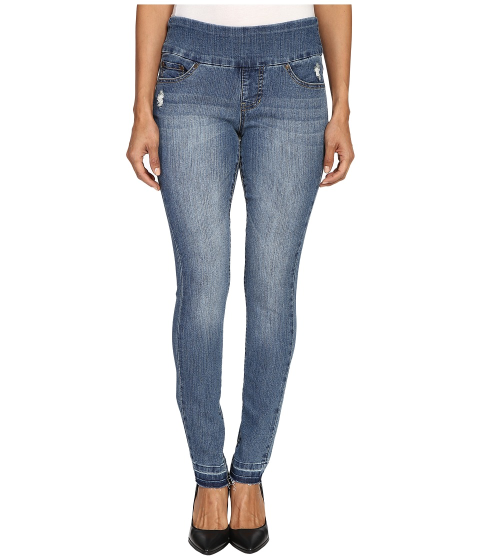 Jag Jeans Petite - Petite Nora Pull-On Skinny in Comfort Denim in Weathered Blue (Weathered Blue) Women's Jeans