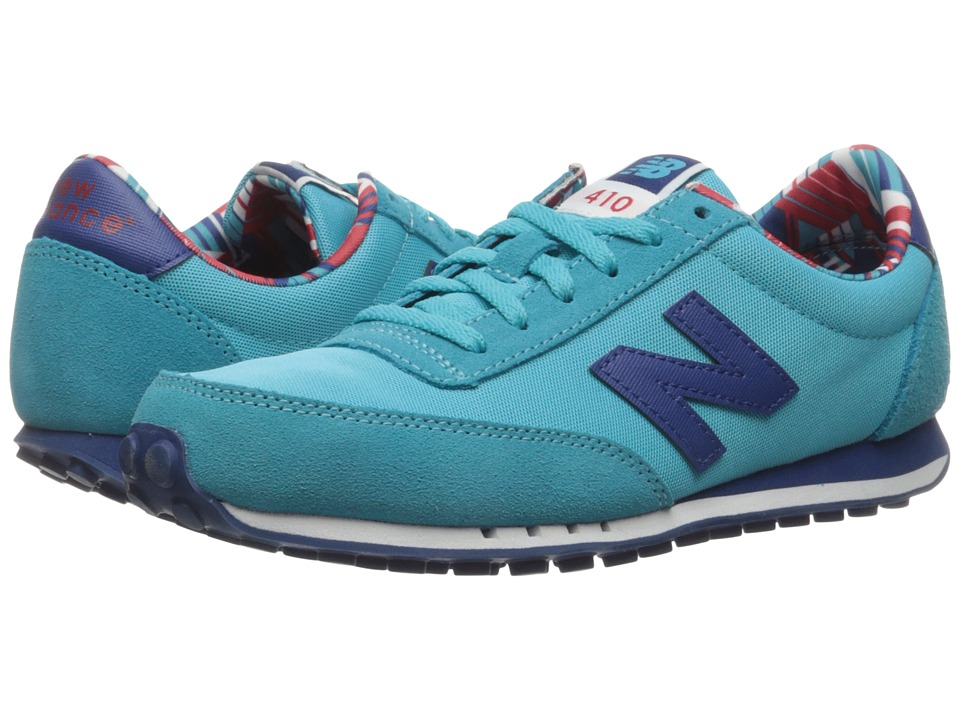 New Balance Classics - WL410v1 (Teal/Atlantic) Women's Running Shoes