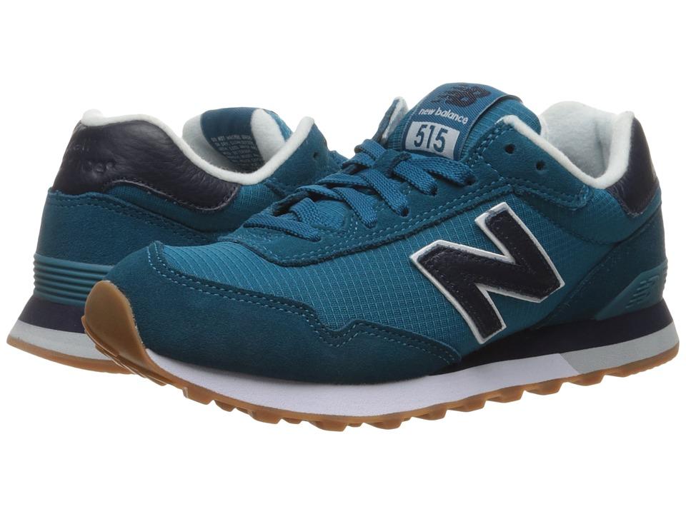 New Balance Classics - WL515 (Lake Blue/Pigment) Women's Classic Shoes