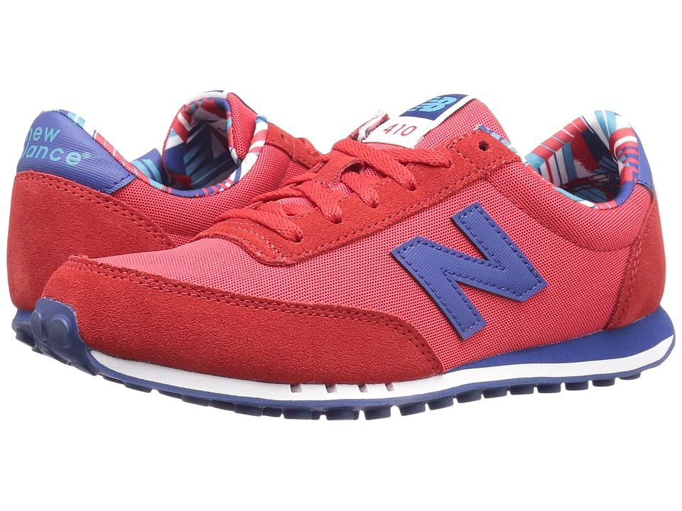 New Balance Classics - WL410v1 (Red/Atlantic) Women's Running Shoes