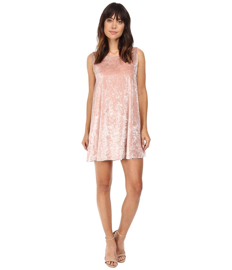 BB Dakota - Astell Velvet Shift Dress (Champange) Women's Dress
